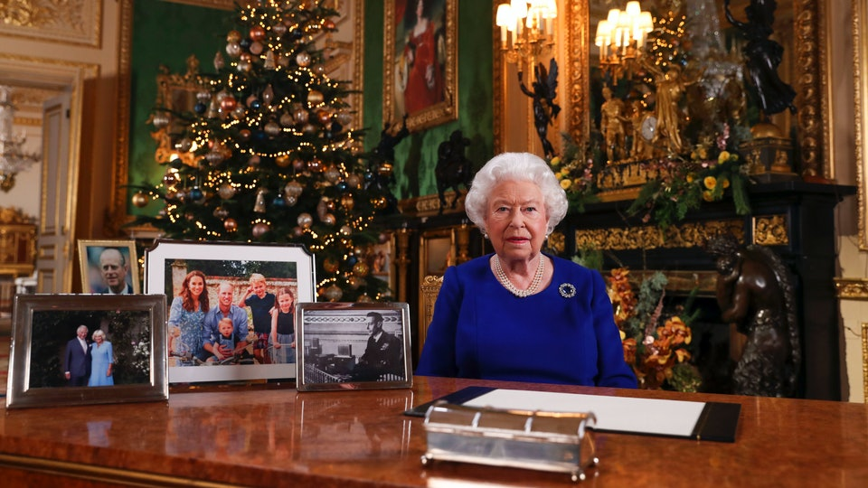 Queen Elizabeth didn't include a photo of the Sussexes in her Christmas speech.