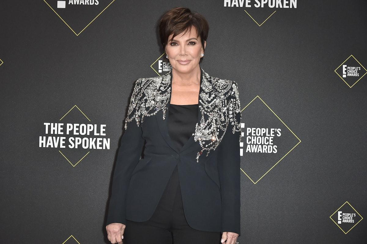 Kris Jenner's Instagram Fail At The Kardashian Christmas Party Was Peak Mom