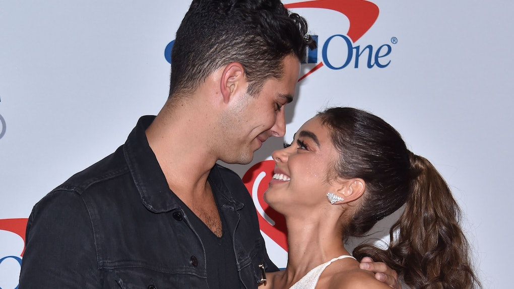 Wells Adams and Sarah Hyland's Christmas Instagram got NSWF