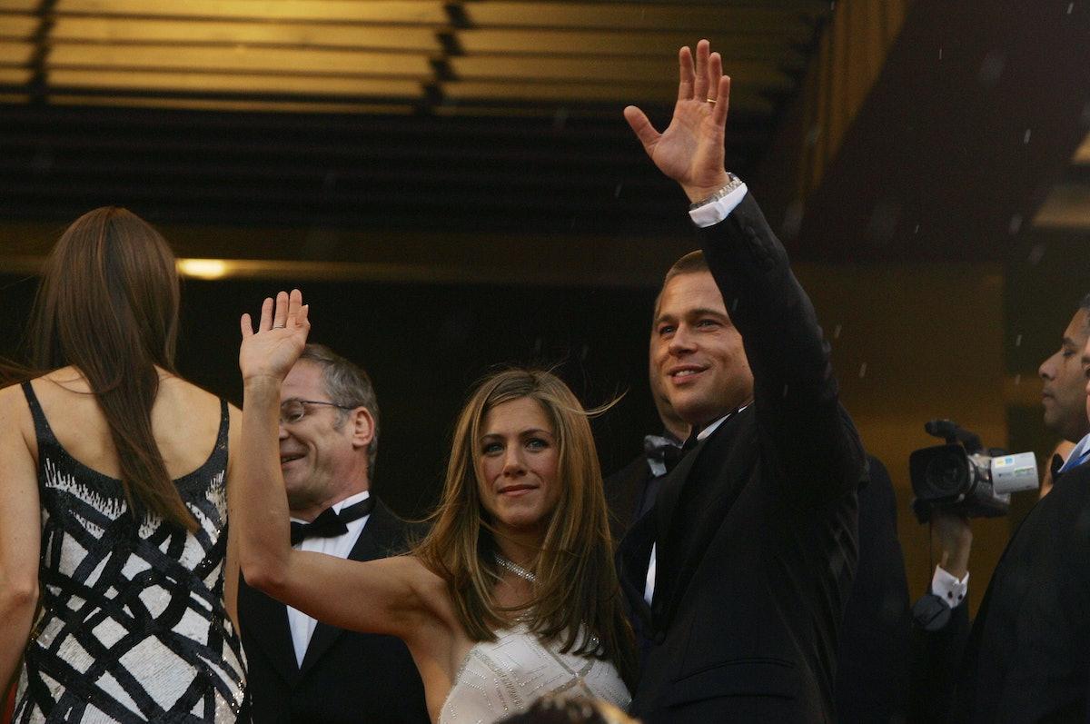 Brad Pitt and Jennifer Aniston divorce