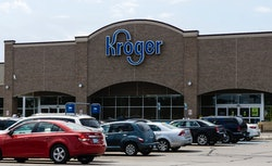 the outside of a Kroger store