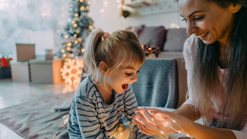 Believing in magic and make believe is great for a child's development, experts say.