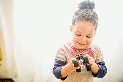 Experts say your toddler's obsession with trucks could help their development