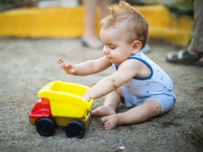 Your toddler's obsession with trucks could be beneficial to their development