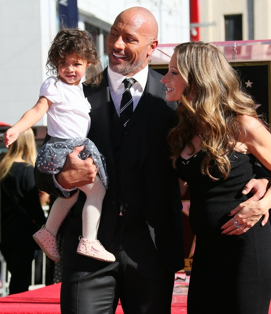 Dwayne Johnson is all about his blended family.