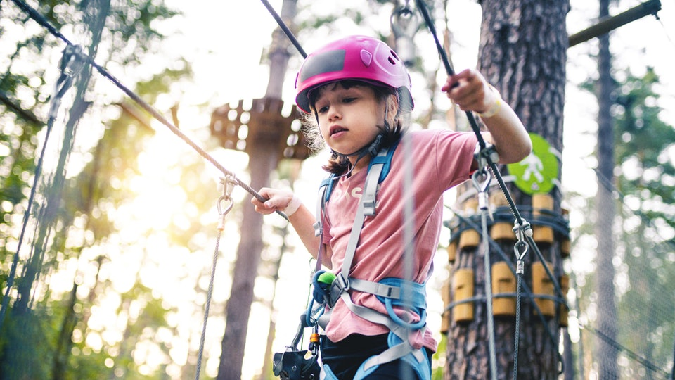 Helping your kids overcome their fears is one way to encourage your child to be brave.