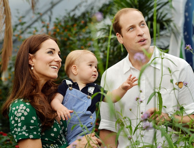 Prince George turned a year old in July 2014.