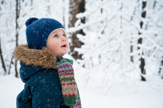 These 25 Instagram captions of kids snowy day perfectly capture their time catching snowflakes.