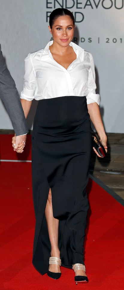 Meghan Markle wore Givenchy to the 2019 Endeavor Awards.