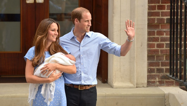 The birth of the first royal baby and the couple's first appearance was a beautiful moment