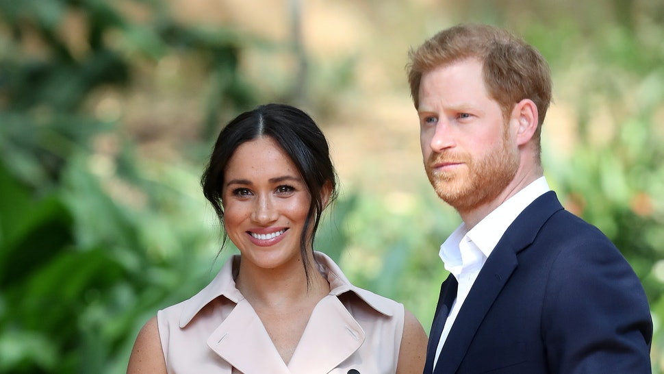 Prince Harry and Meghan Markle have filed a trademark for Sussex Royal