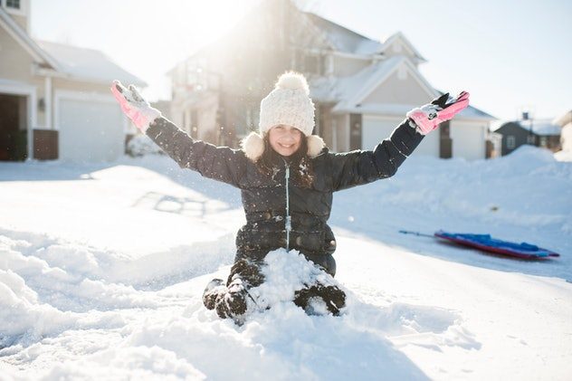 These 25 Instagram captions of kids snowy day perfectly capture snow play.
