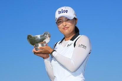Golfer Jin Young Ko broke Tiger Woods' bogey record in 2019