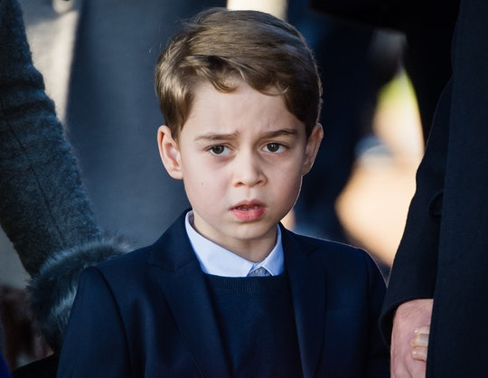 Prince George's favorite song to jam out to in the morning is the English national football team.