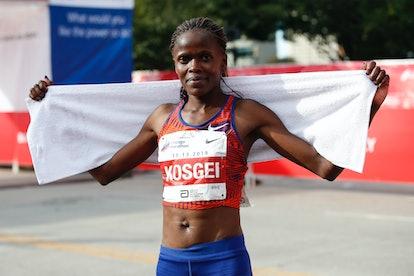 Kenyan runner Brigid Kosgei beat Paula Radcliffe's women's marathon record