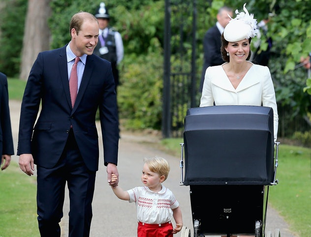 Princess Charlotte's christening was held a few months after her birth in 2015.