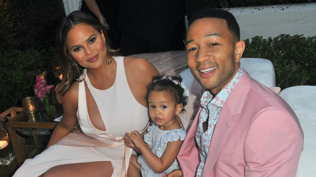 """Chrissy Teigen and John Legend's kids, Luna and Miles, are so adorable and Chrissy Teigen's video of Luna and Miles' """"fried chicken party dance"""" proves it."""