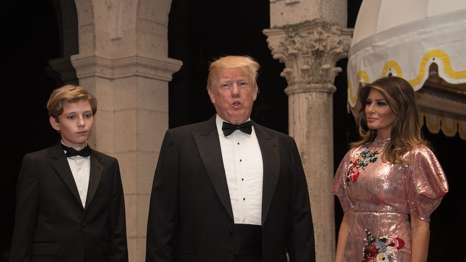 Donald and Melania Trump will spend New Year's Eve at Mar-a-Lago.