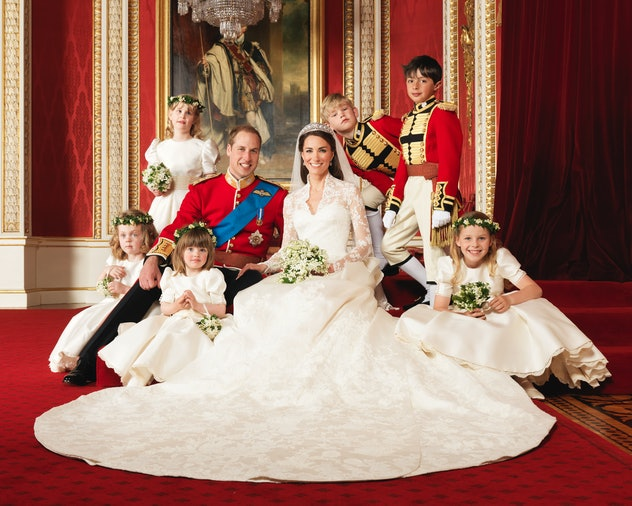 """Prince William and Kate Middleton's appearance at their wedding drew comparisons to """"Cinderella."""""""