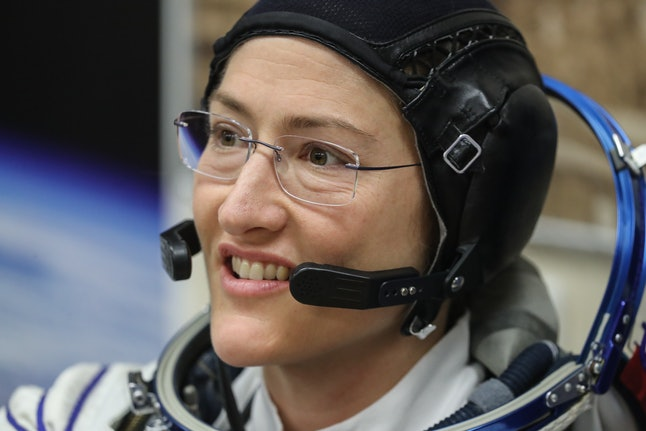 Astronaut Christina Koch conduct the longest ever women's space flight