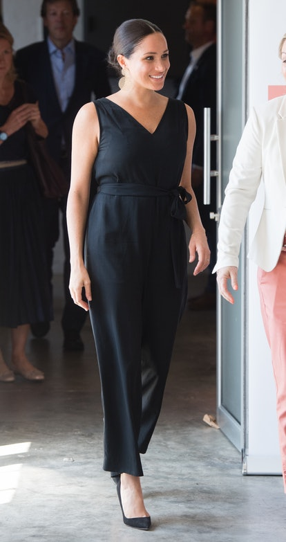 Meghan Markle's $120 Everlane jumpsuit made a second appearance in South Africa.