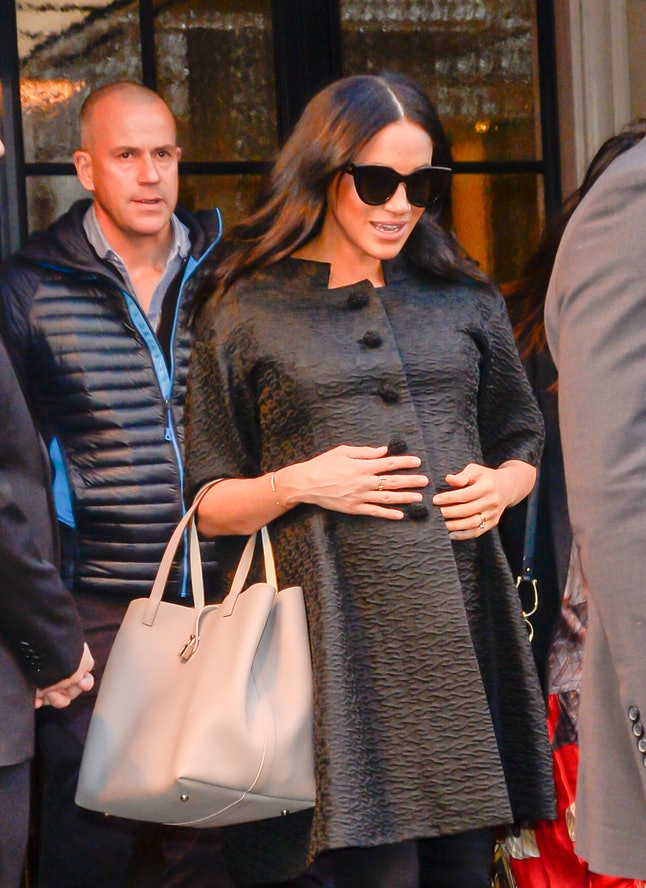 Meghan Markle wore a vintage coat while visiting New York City.