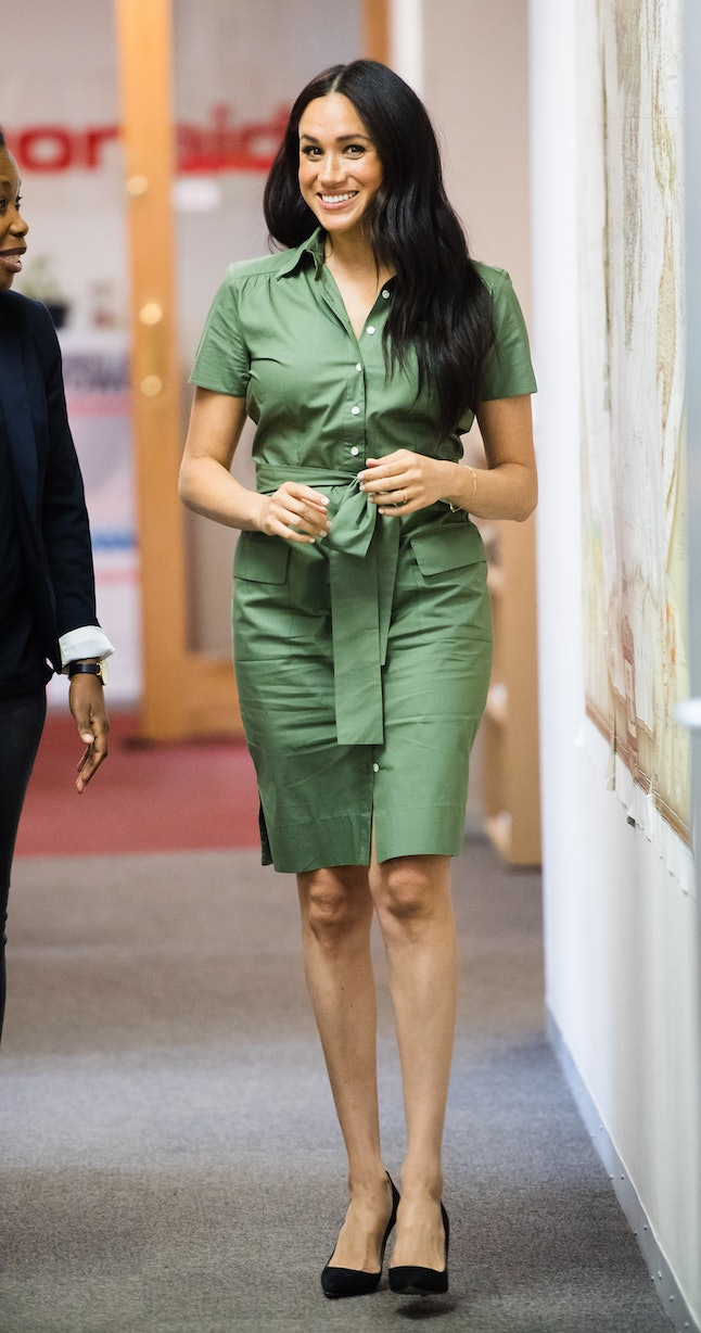 Meghan Markle's Room 502 dress was another shirt-like design.