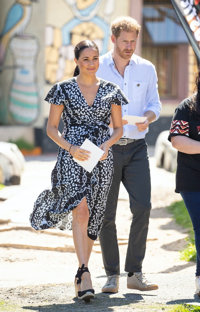 Meghan Markle's $80 Mayamiko dress sold out after she wore it in South Africa.