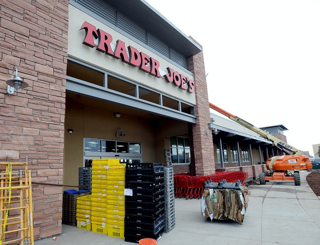 A Trader Joe's facility. The store is recalling products that may be contaminated with Listeria.
