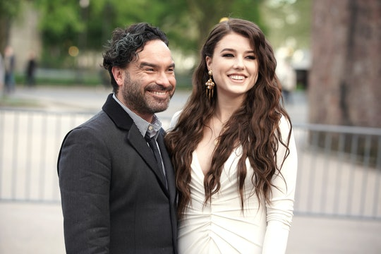 Johnny Galecki and Alaina Meyer welcomed their first child together on Wednesday.