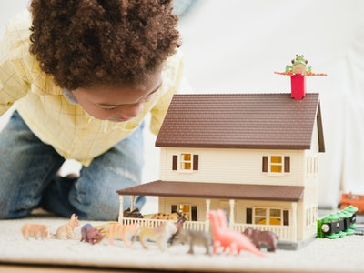 Science says kids love miniature things that help them escape reality.