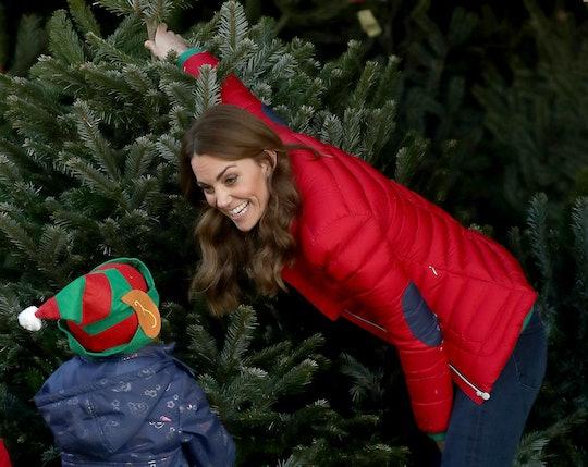 Kate Middleton has Christmas trees on the brain these days.