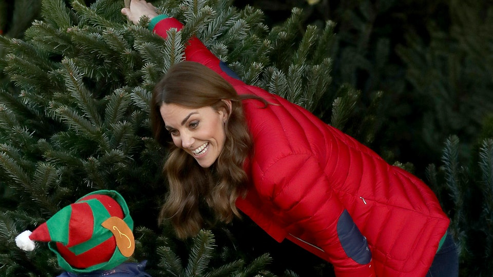 Kate Middleton has Christmas trees on the brain these days.