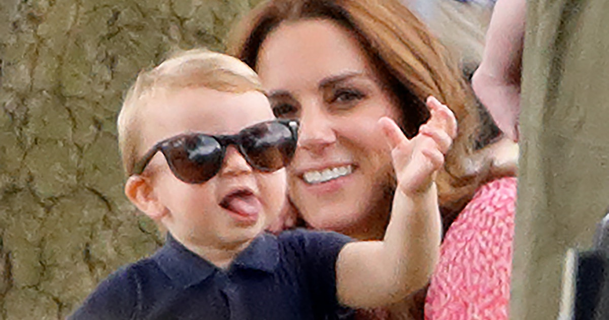 Kate Middleton Reveals Prince Louis Is Talking & Loves Saying This One Word