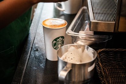 Make your Starbucks holiday drink less sweet by added less syrup.
