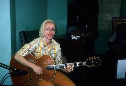 Bassist Carol Kaye, who Carole from 'Mavelous Mrs. Maisel' is based on.