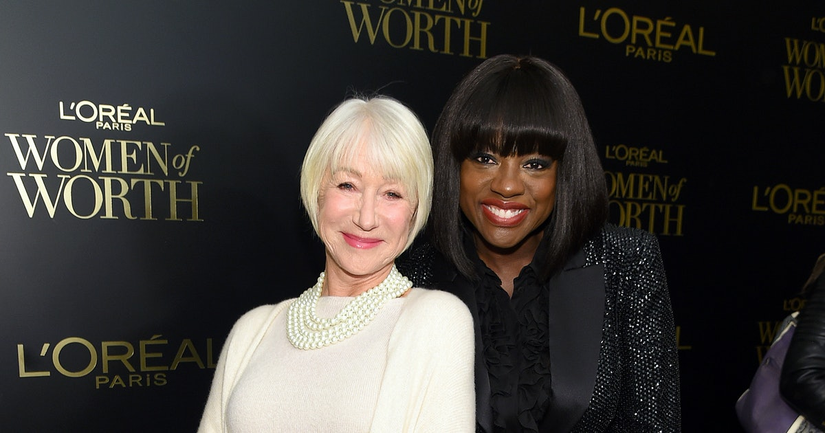 L'Oreal Paris Women Of Worth 2019 — Viola Davis, Helen Mirren, & Aja Naomi King On The Strength Of Feminine Power