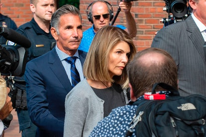 Lori Loughlin and Mossimo Giannulli photographed after the college admissions scandal