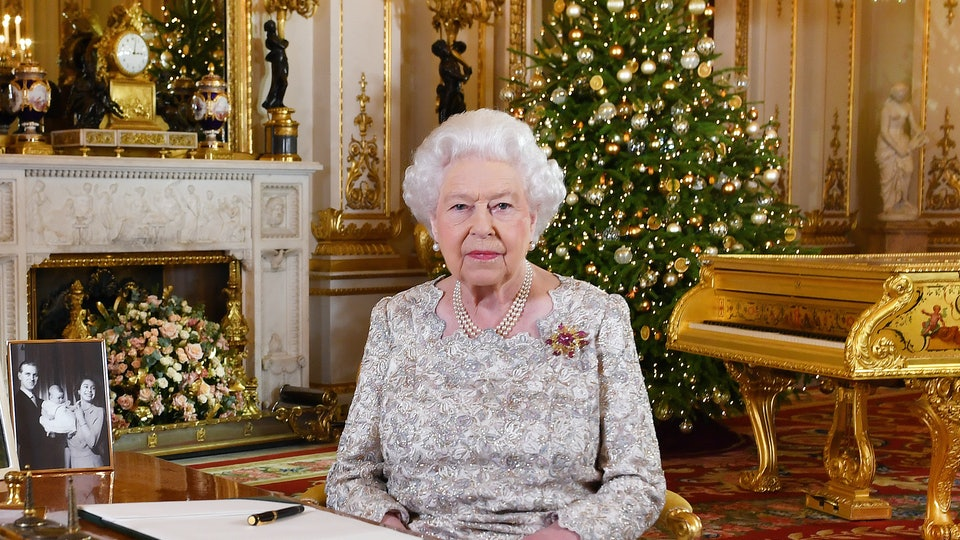 Queen Elizabeth's Christmas holiday looks actually requires a lot of work.