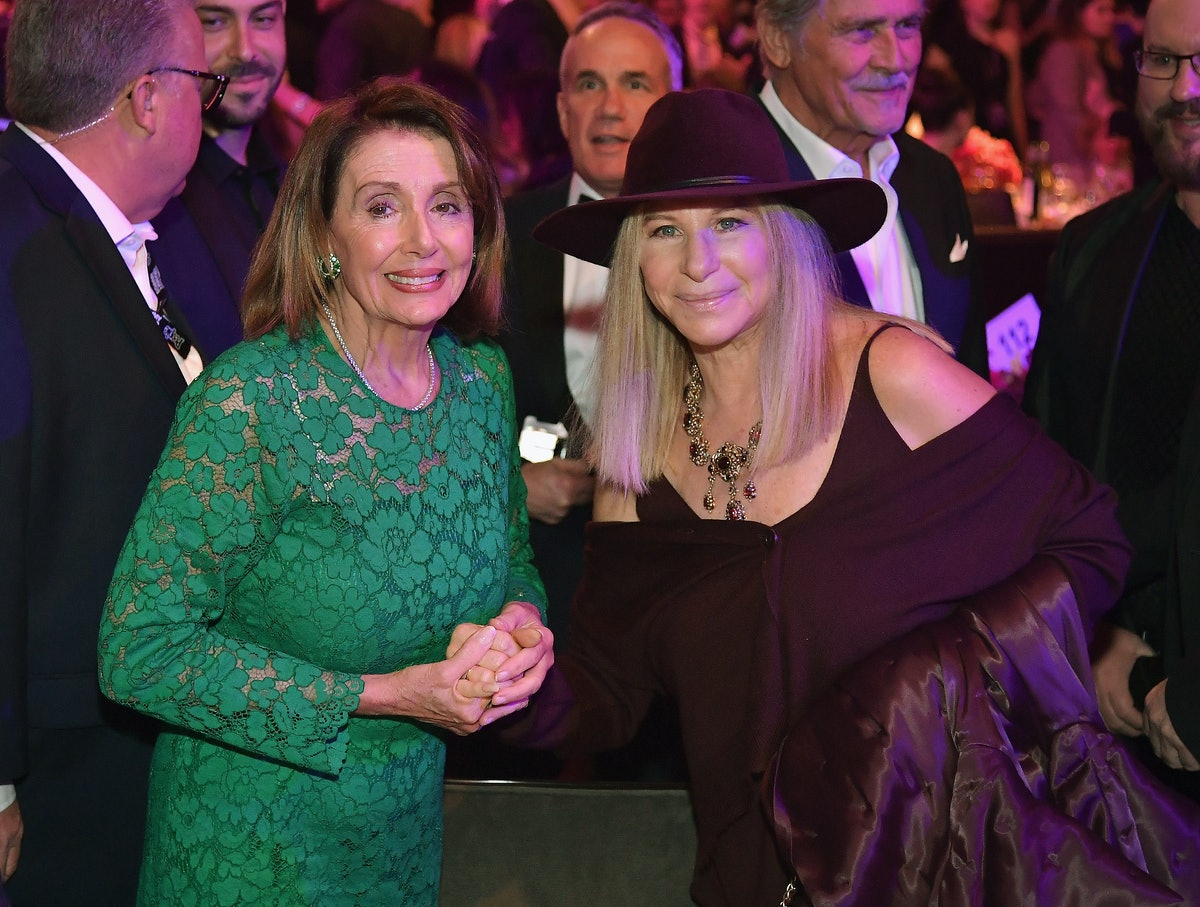 Nancy Pelosi Attended A Pre-Grammy Gala & The Audience Gave Her A Standing Ovation