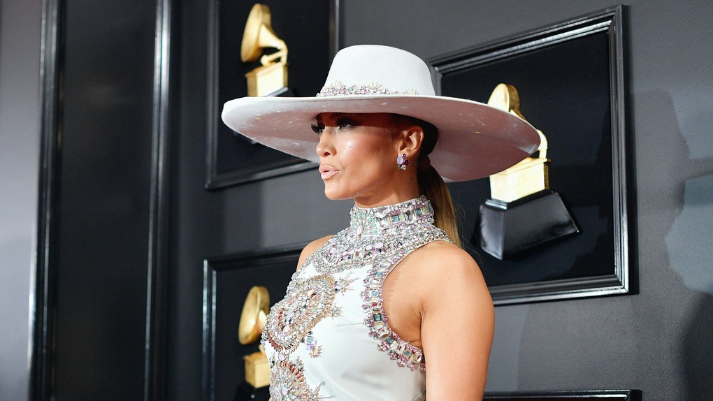 Hats   Headpieces At The 2019 Grammy Awards Were The Most Popular  Accessories 87fa4af6aef