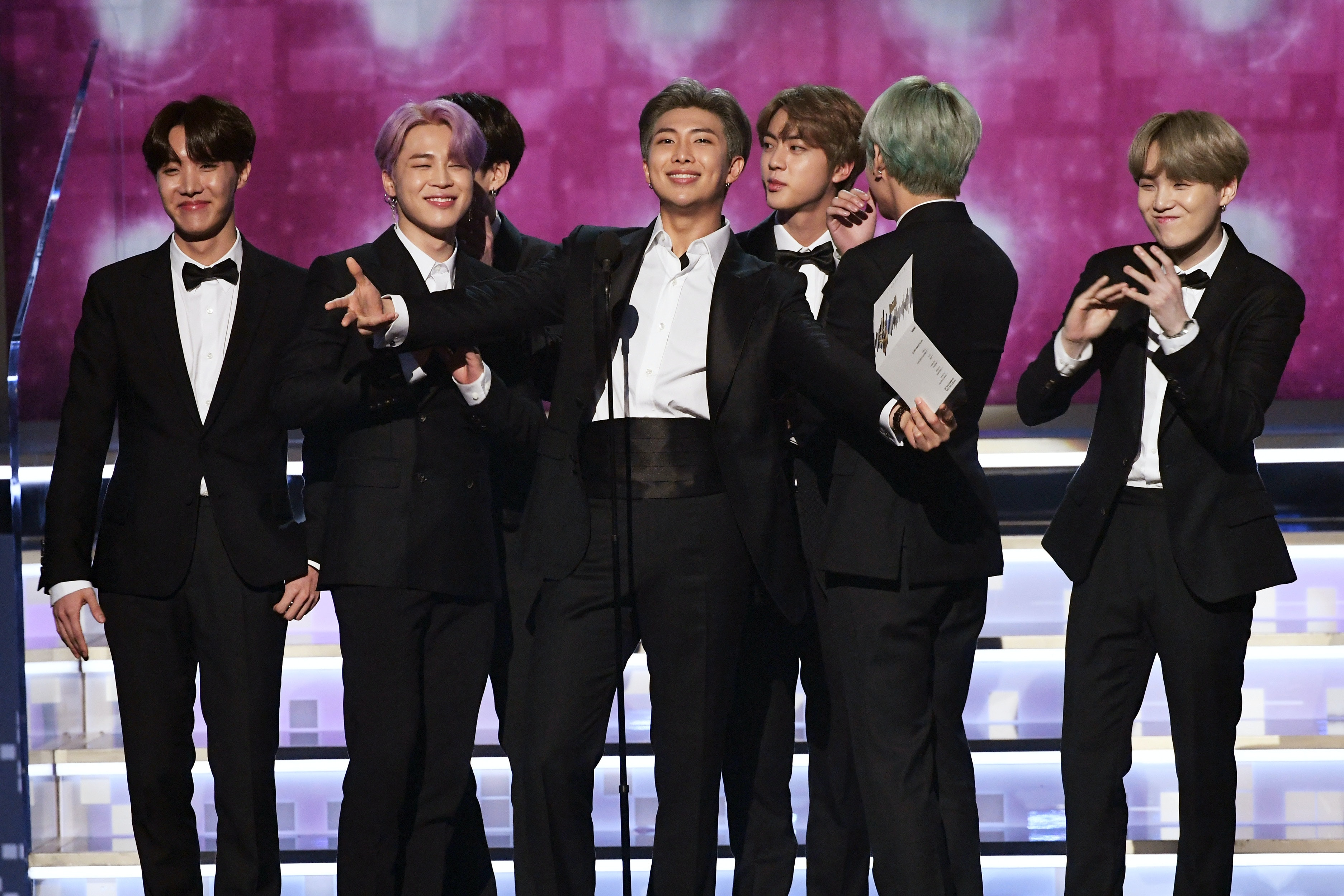 rm changed bts grammys presentation speech on stage to send an epic message to army https www elitedaily com p rm changed bts grammys presentation speech on stage to send epic message to army 15941761