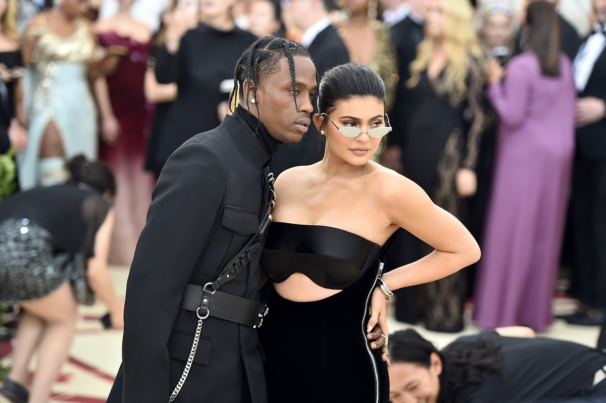 Twitter Is Melting Over How In Love Kylie Jenner & Travis Scott Look At The Grammys