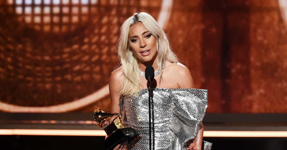 Lady Gaga Used Her Grammy Win To Give A Moving Speech About Mental Health