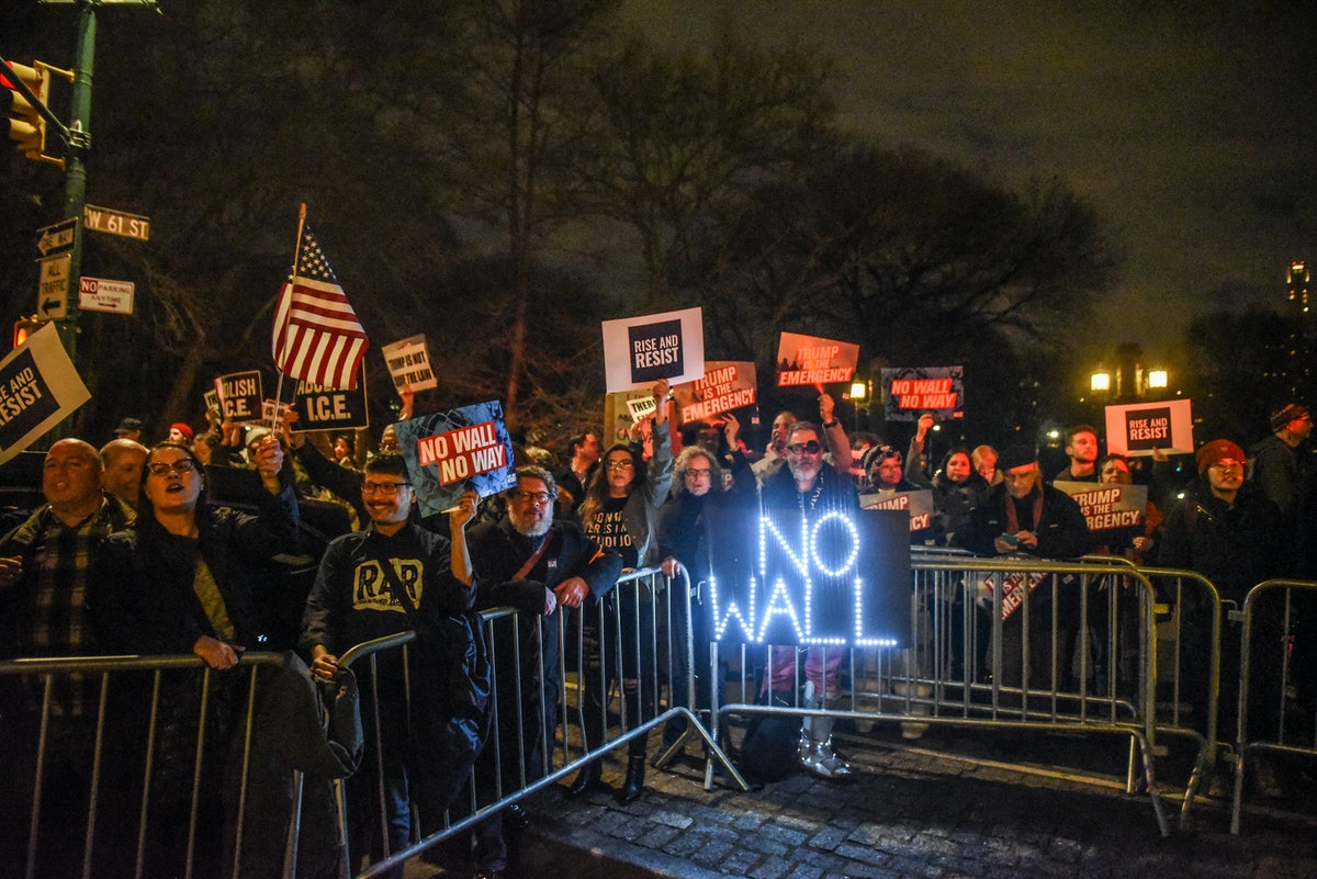 2019 Presidents Day Protests Against Trump's Wall Are About To Happen Nationwide