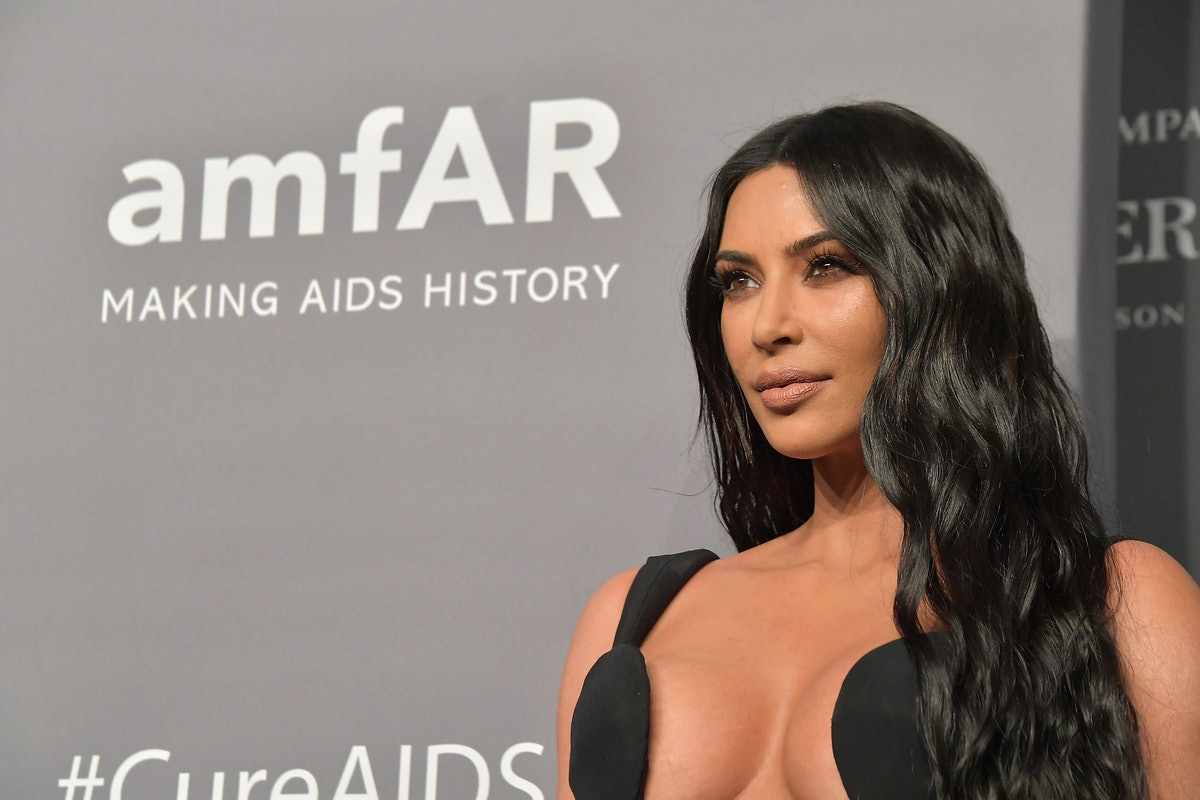 Kim Kardashian's Vintage Mugler Dress May Be One Of Her Most Iconic Looks Ever