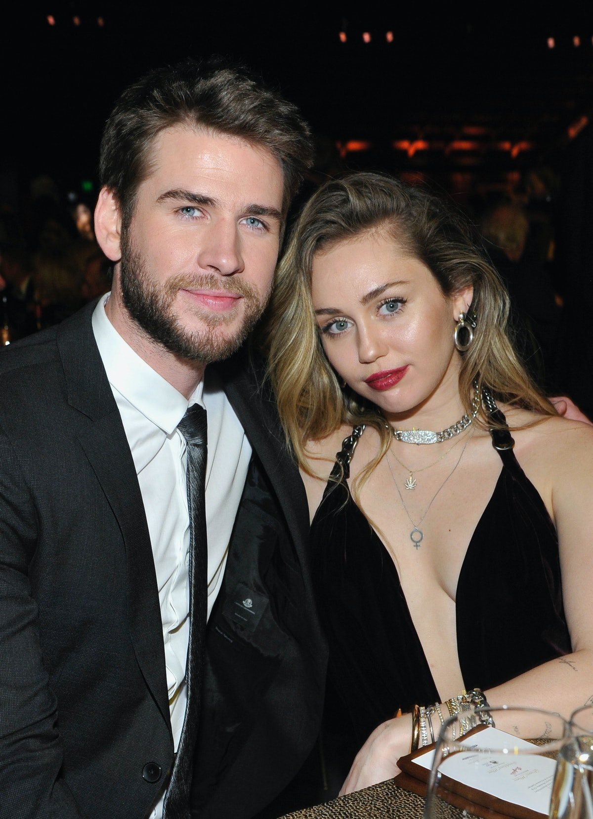 Miley Cyrus & Liam Hemsworth's Wedding Included Puppies & So Much Vegan Food — PHOTOS