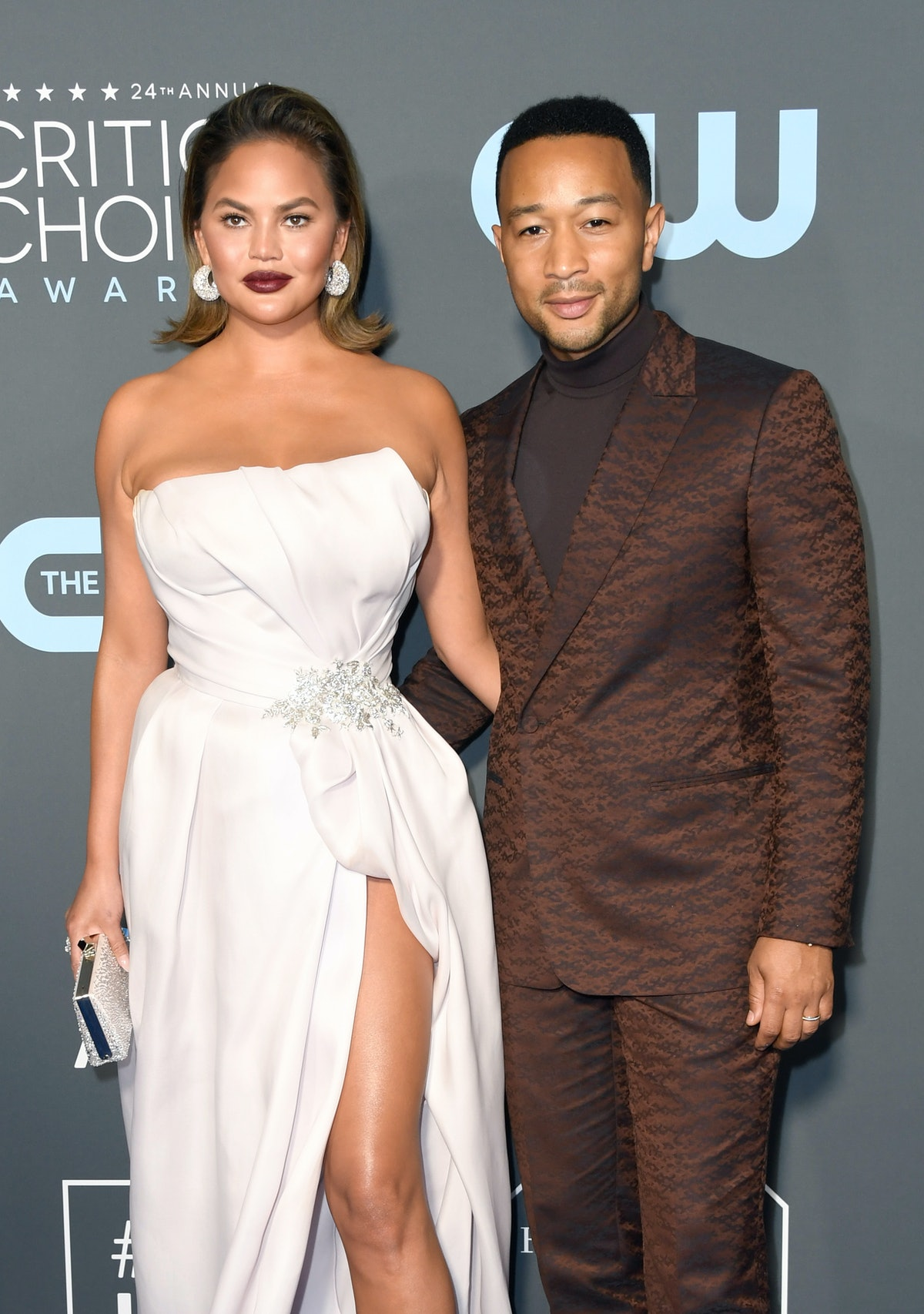 Chrissy Teigen & John Legend's Totino's Tweets Highlight A Hilarious Misunderstanding Between The Couple