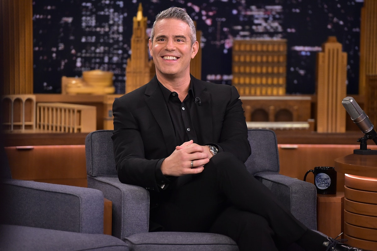 Andy Cohen's Photo Of His Baby & His Dog Bonding Will Definitely Melt Your Heart