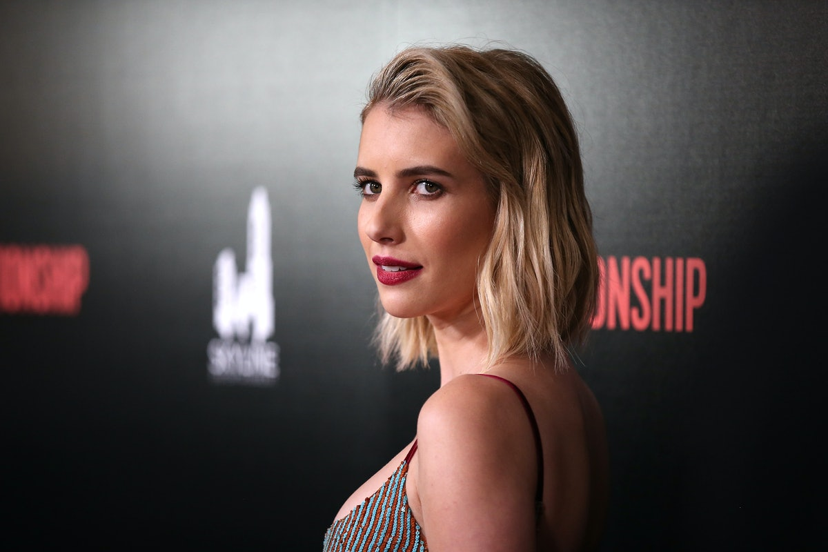 Emma Roberts' New Brown Hair Color Will Convince You To Go Darker